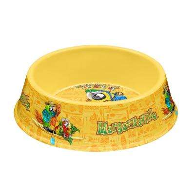 Margaritaville Tropical Icons Medium Pet Bowl in Yellow