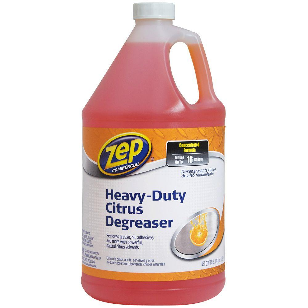 Zep 128 Oz Commercial Heavy Duty Citrus Degreaser Case