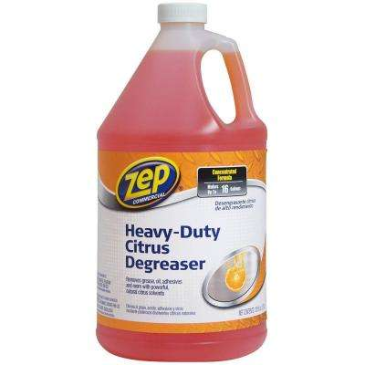 128 oz. Commercial Heavy-Duty Citrus Degreaser (Case of 4)