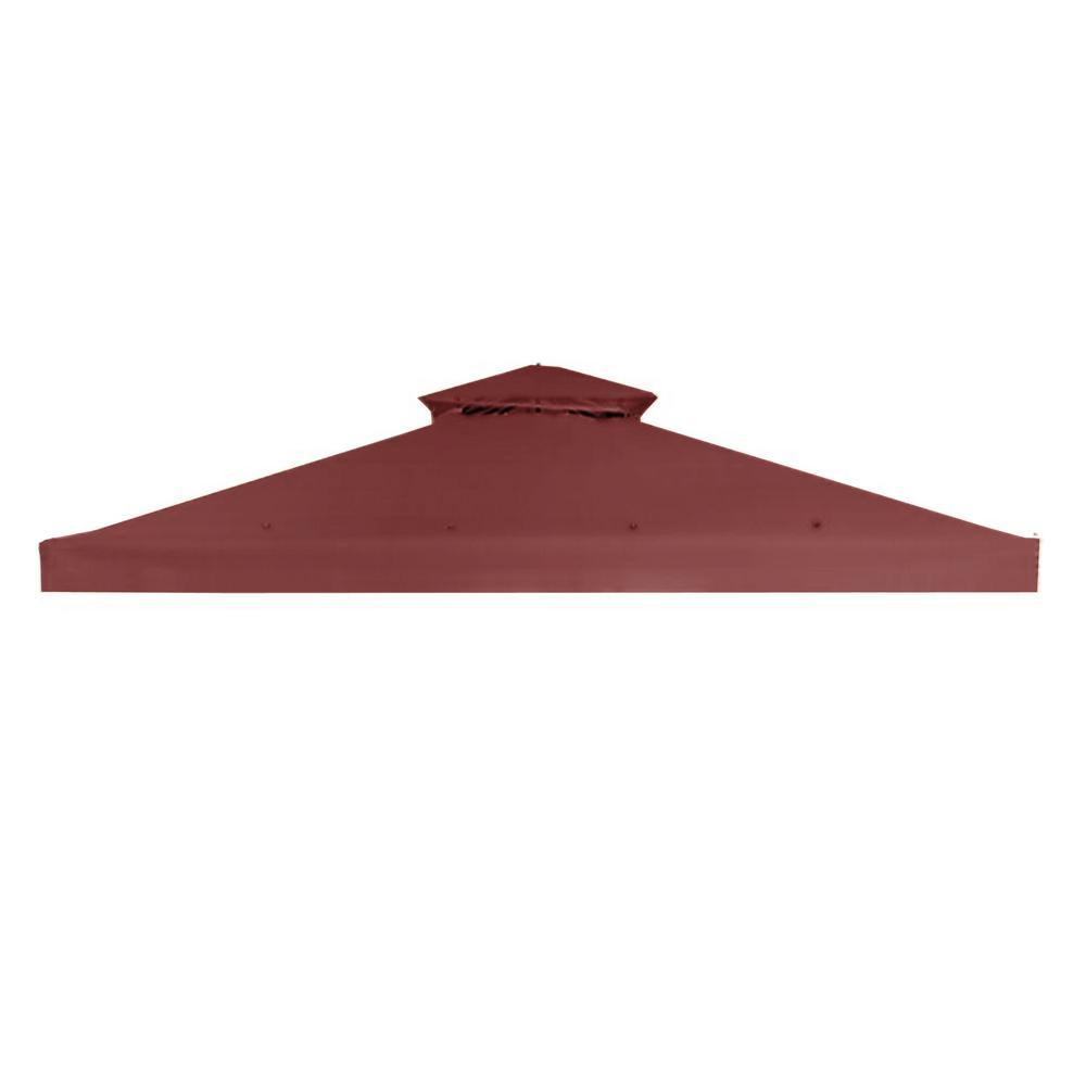 RipLock 350 Nutmeg Replacement Canopy for 10 ft. x 10 ft. Arrow Gazebo