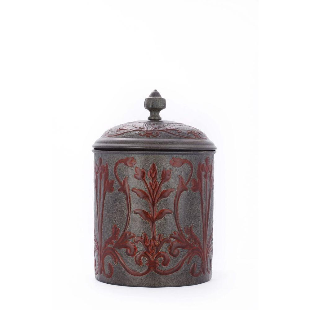 Old Dutch 4 qt. 7 in. x 10.5 in. Art Nouveau Cookie Jar with Fresh Seal Cover