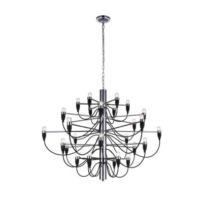 Hayden 30-Light Chrome Chandelier