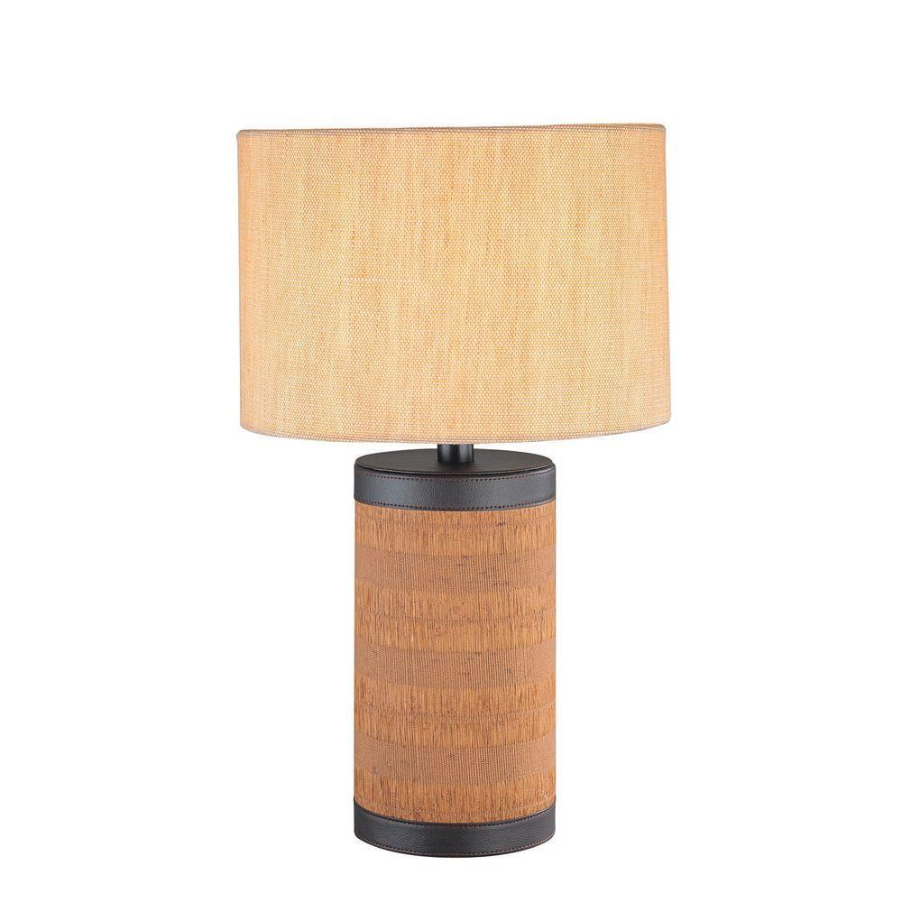 Illumine 1-Light Table Lamp Brown Finish-DISCONTINUED