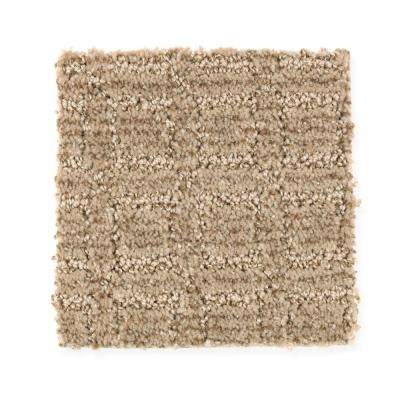 Carpet Sample - New Start I - Color Shadow Pattern 8 in. x 8 in.