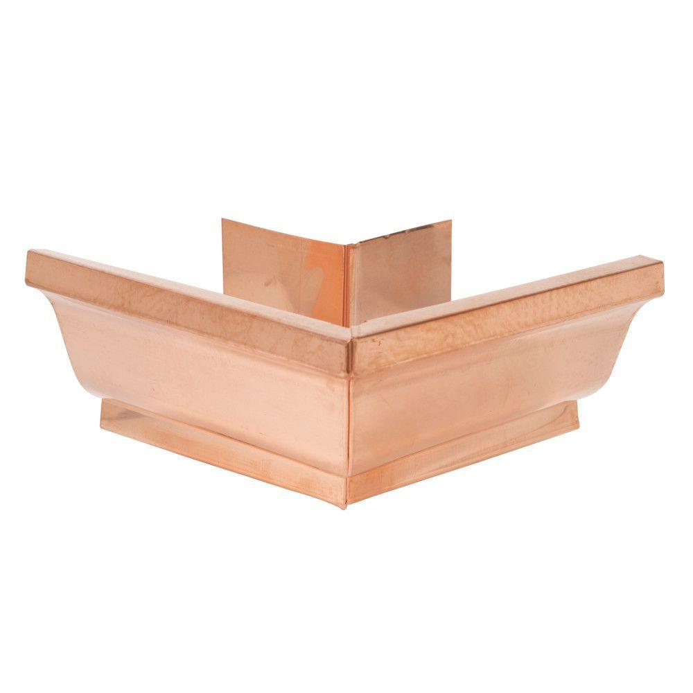 5 in. K-Style Copper Outside Mitre