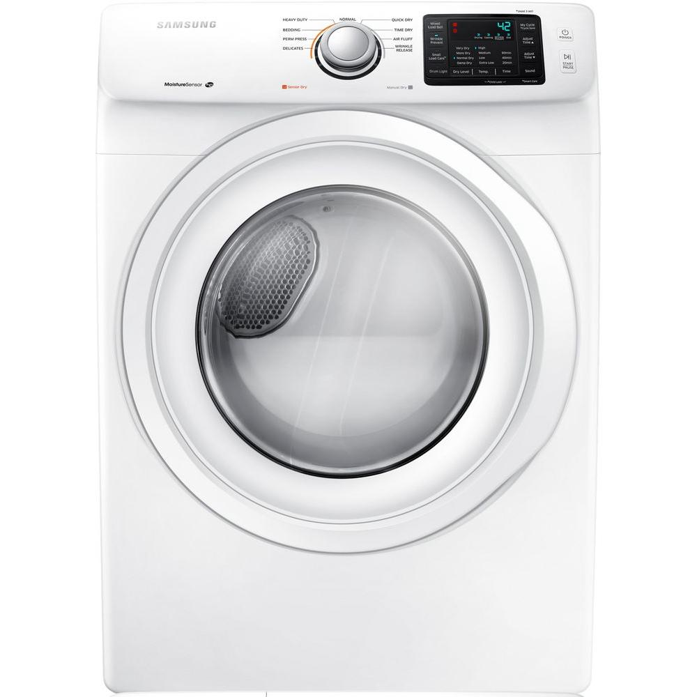 Samsung 7.5 cu. ft. Gas Dryer in White