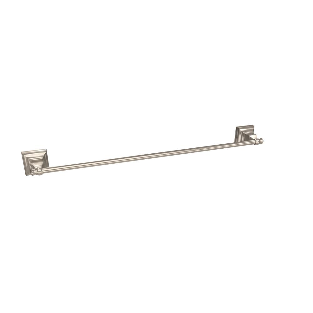 Amerock Markham 24 In 610 Mm Towel Bar In Brushed
