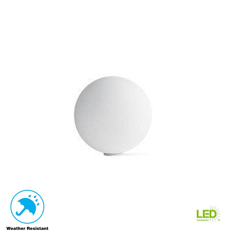 Ball Multicolor Outdoor Accent Light with Wireless LED Light