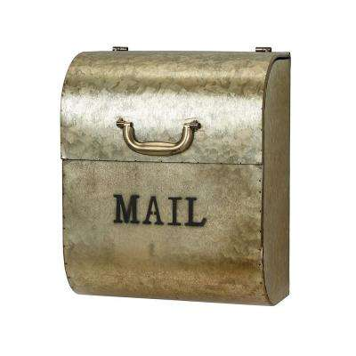 Medallion Gold Briefcase Style Mailbox