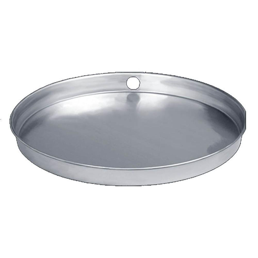 Water Tite 22 In Aluminum Water Heater Pan With Pvc Drain