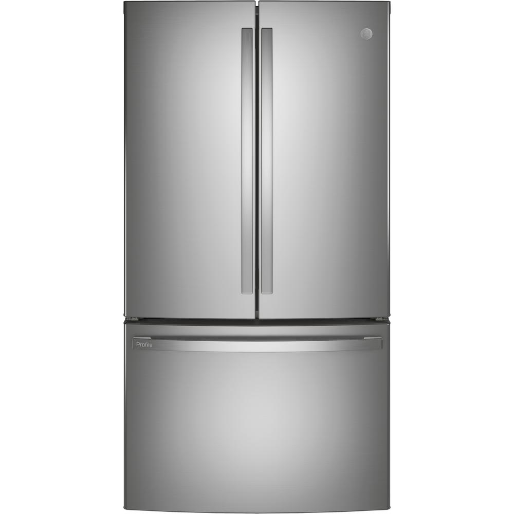 GE Profile 23.1 cu. ft. French Door Refrigerator in Fingerprint Resistant Stainless Steel, ENERGY STAR and Counter Depth