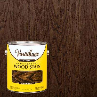 1 gal. Dark Walnut 250 VOC Classic Wood Interior Stain (2-Pack)