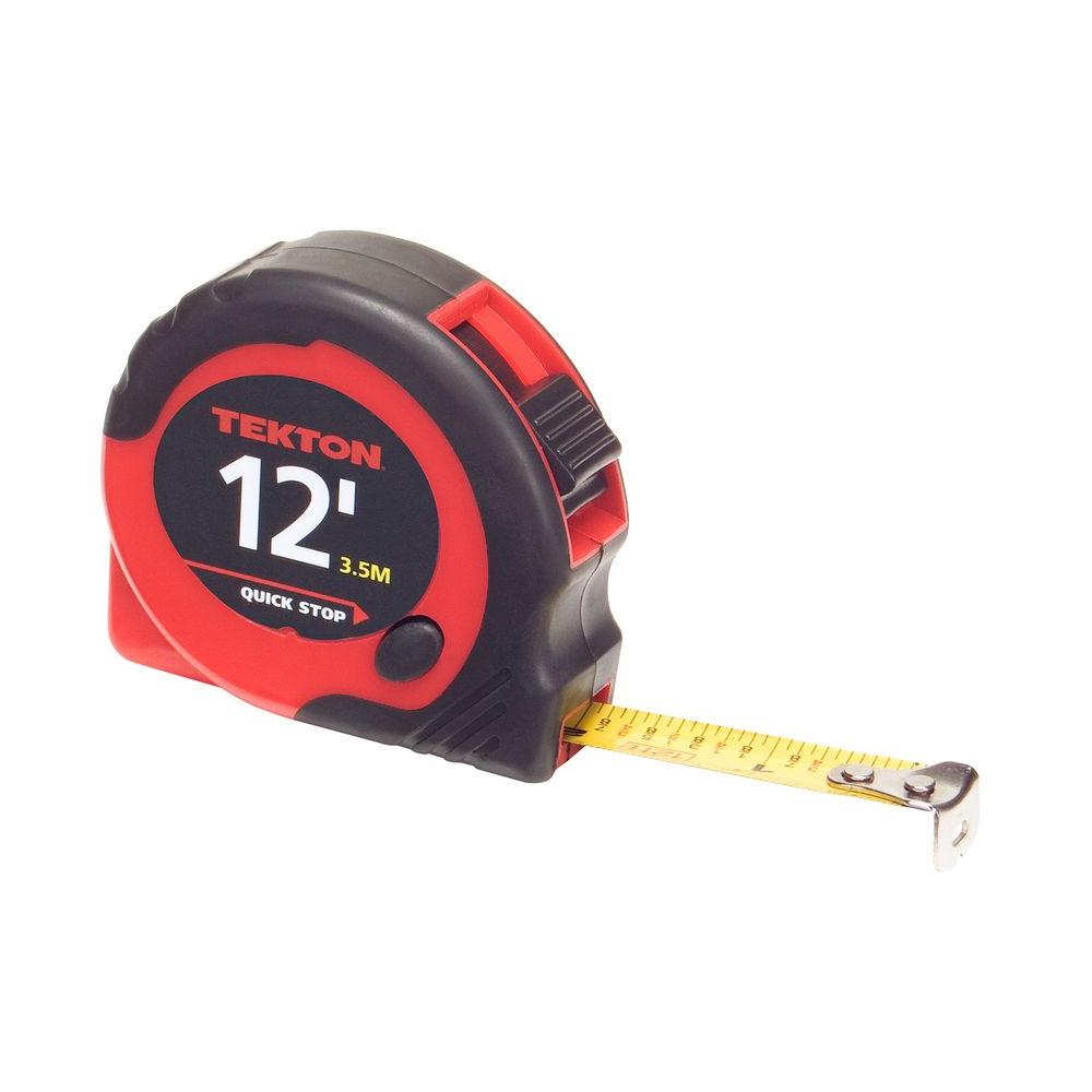 TEKTON 12 ft. x 1/2 in. Tape Measure