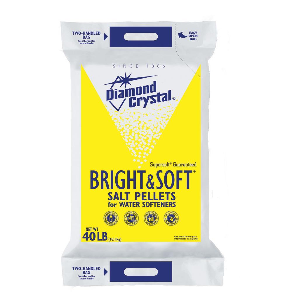 Bright and Soft Water Softener Salt Pellets