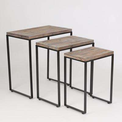 Natural Accent Tables (Set of 3)