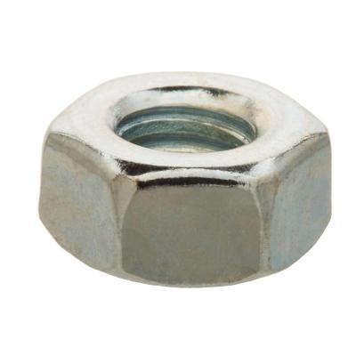 3/8 in.-16 Zinc Plated Hex Nut (25-Pack)