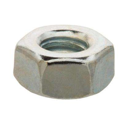 1/4 in. -20 tpi Zinc-Plated Hex Nut (25-Pack)