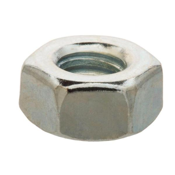 1/4 in.-20 Zinc Plated Hex Nut (25-Pack)