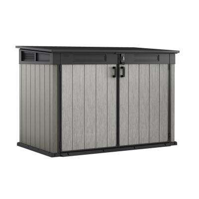 Grande-Store 6.25 ft. W x 3.58 ft. D x 4.34 ft. H Resin Horizontal Shed