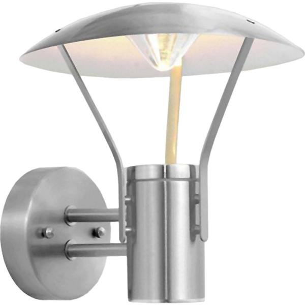 Polished Stainless Steel Modern Exterior Wall Light IP44 Outside Wall Light