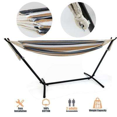 9 ft. Double Hammock with Stand