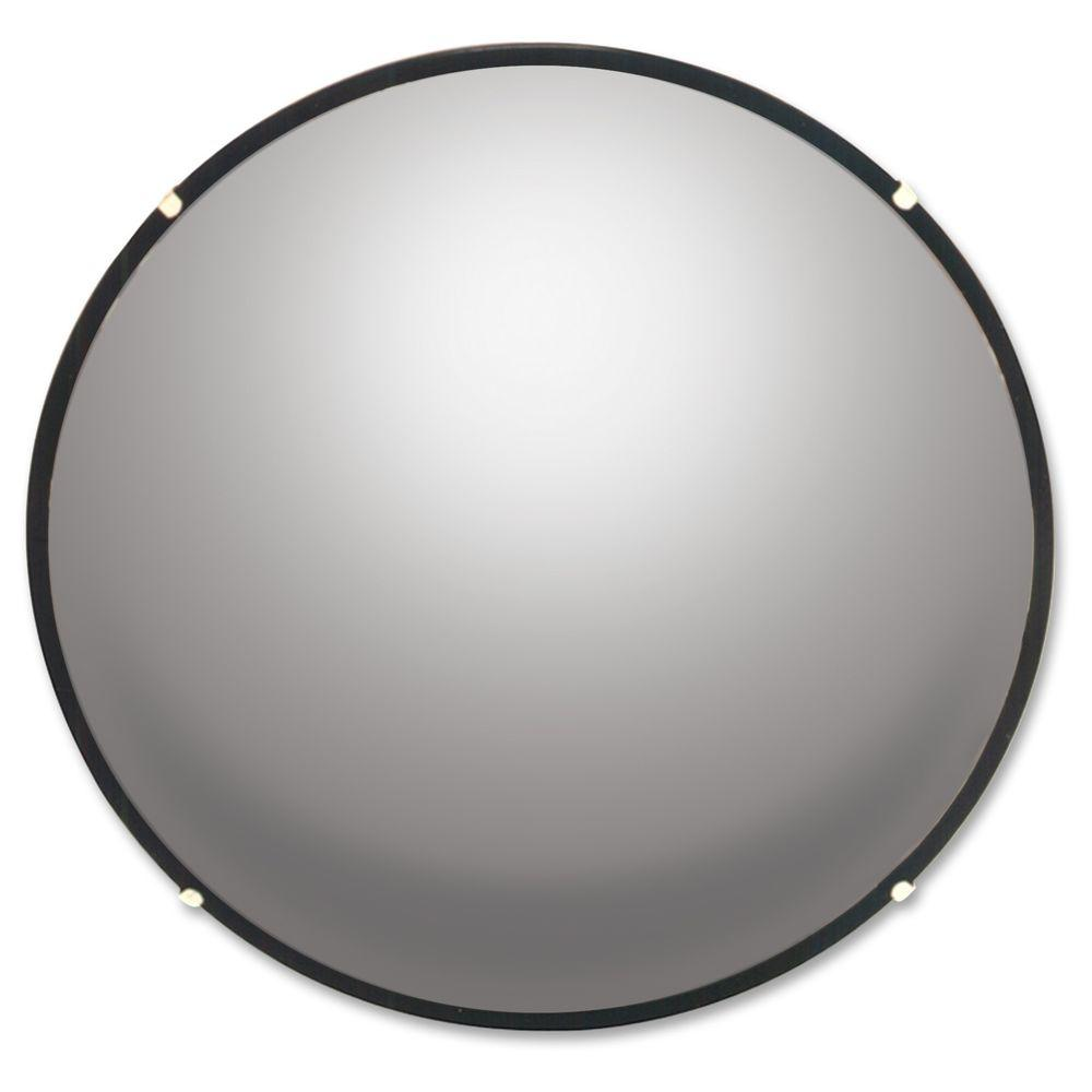 See all round glass convex mirror seen18 the home depot for Convex mirror