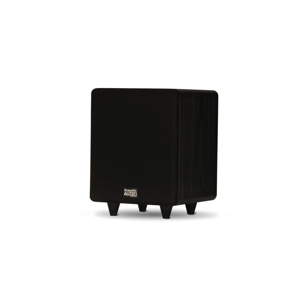 Home Theater Powered 6.5 in. LFE Subwoofer Front Firing Sub
