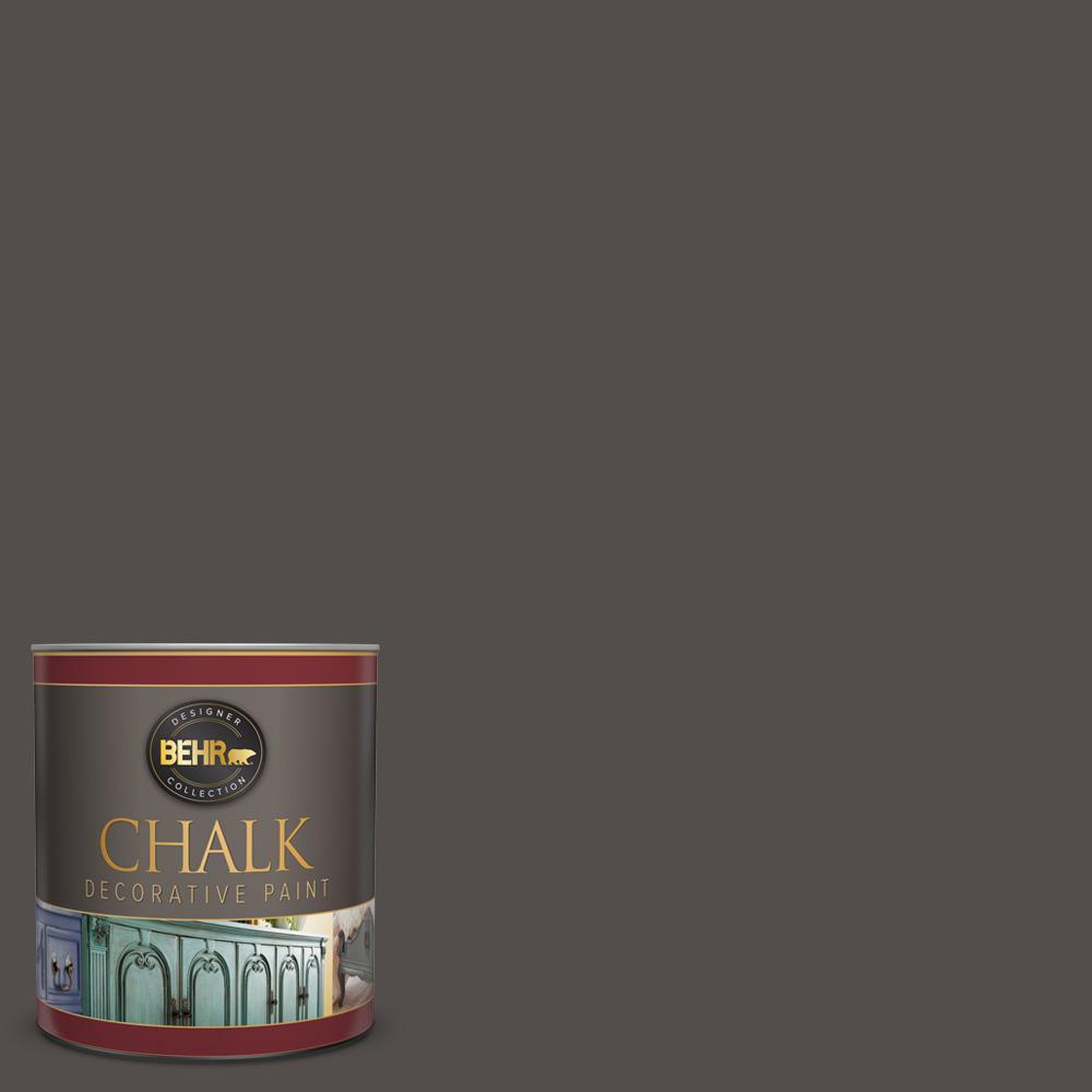 1 qt. #PPU24-02 Berry Brown Interior Chalk Decorative Paint