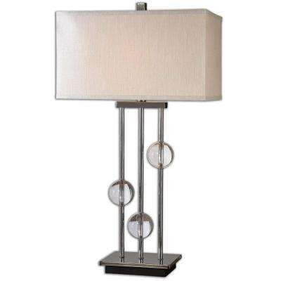 32 in. Crystal Table Lamp