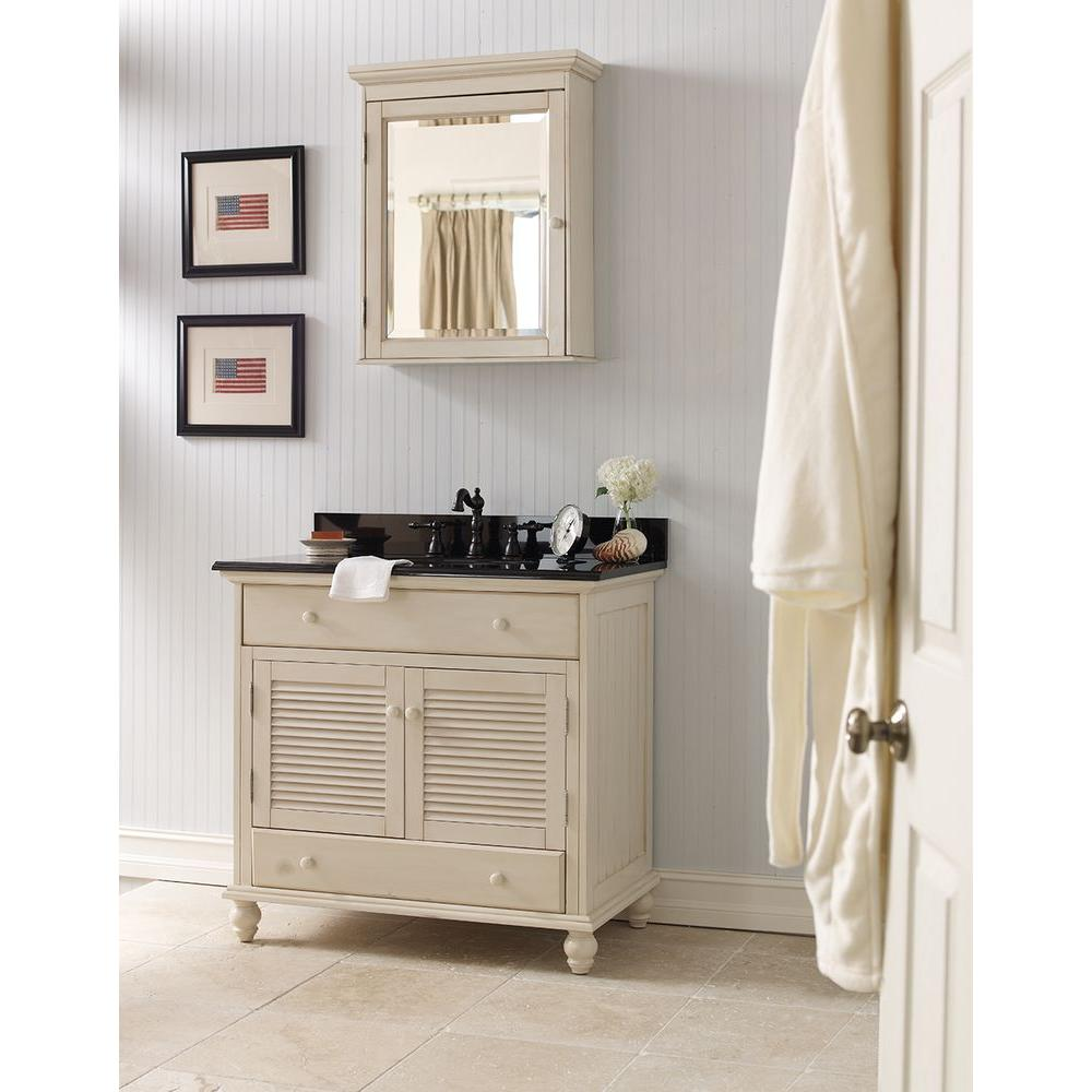Cottage 36 In W Bath Vanity Cabinet