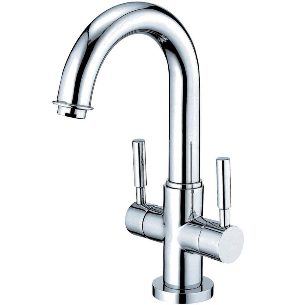 Concord Single Hole 2-Handle Bathroom Faucet in Chrome