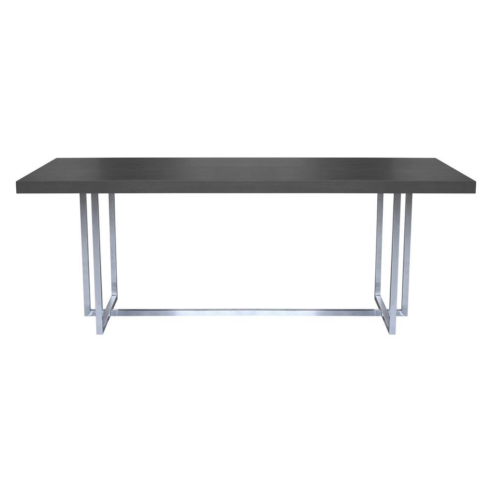 Armen Living Cruise Grey Dining Table