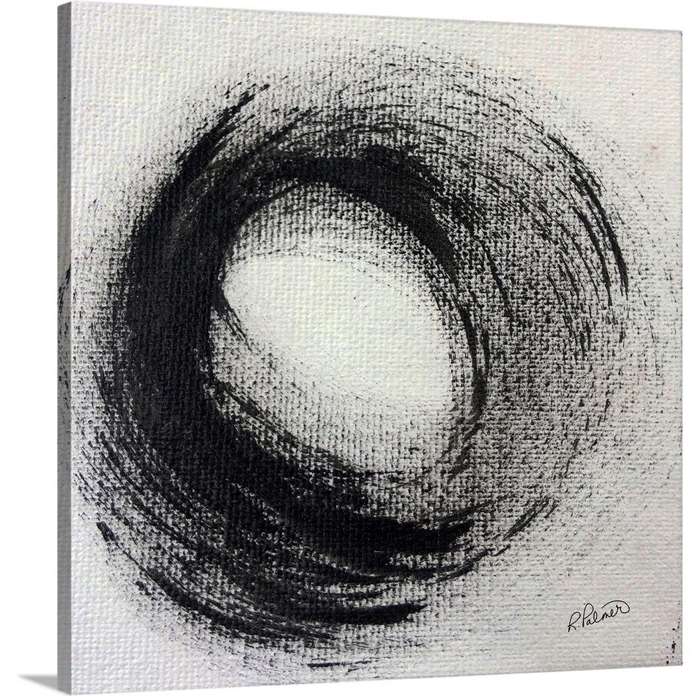 """Full Circle"" by  Ruth Palmer Canvas Wall Art"