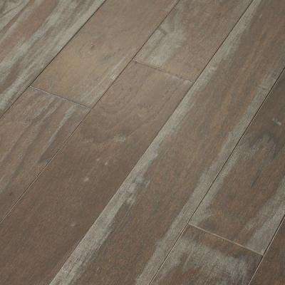Take Home Sample - Majestic Hickory Dry Creek Engineered Click Hardwood Flooring - 5 in. x 8 in.