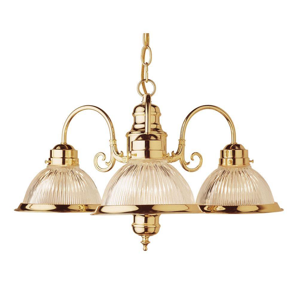 Bel Air Lighting Cabernet Collection 3 Light Polished