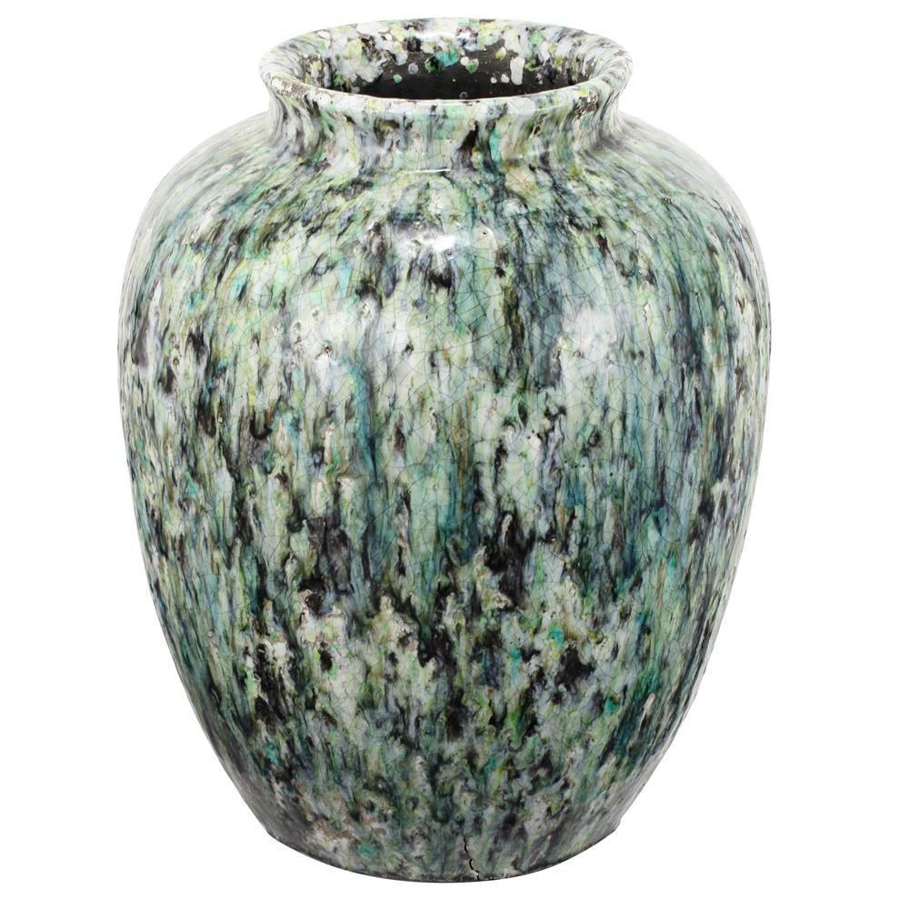 A & B Home 12.5 in. x 16.5 in. Terracotta Vase