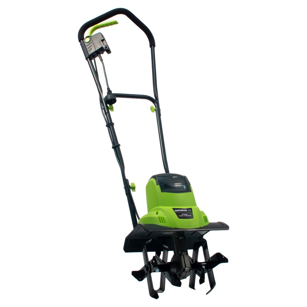 Earthwise 11 In 6 5 Amp Corded Electric Tiller Cultivator