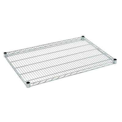 1.5 in. H x 36 in. W x 24 in. D Heavy Duty Chrome Wire Shelf