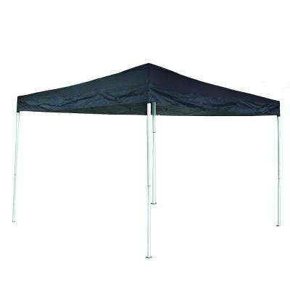 10 ft. x 13 ft. Dark Blue Oxford Fabric Iron Gazebo Canopy