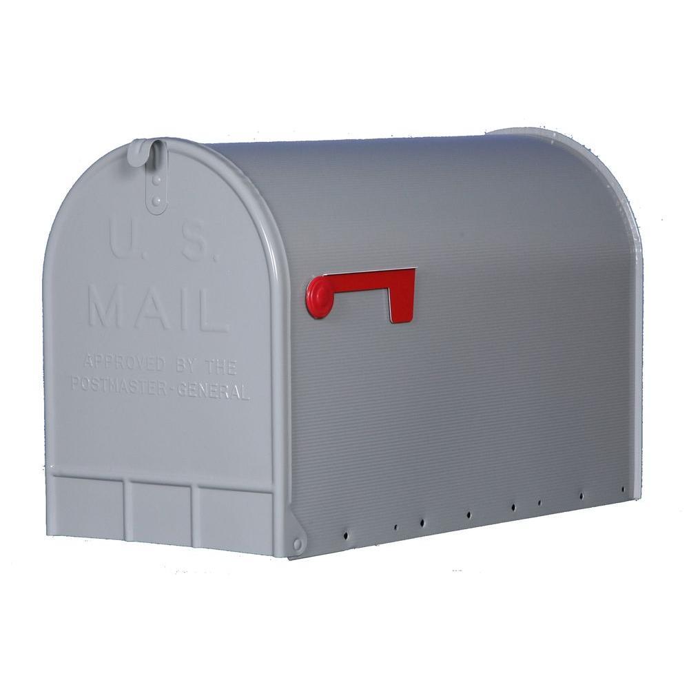 Gibraltar Mailboxes Jumbo Heavy-Duty Post-Mount Mailbox