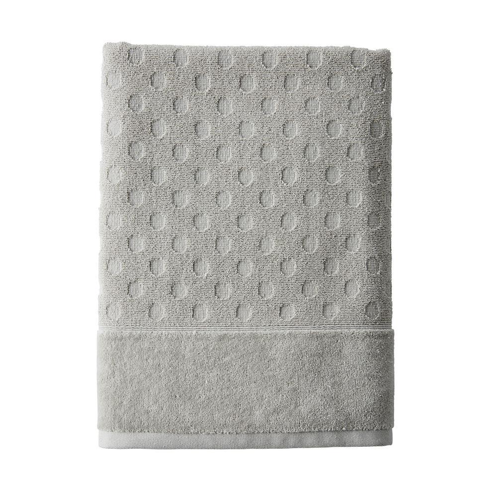 The Company Store Dot Supima Cotton Single Bath Towel in Light