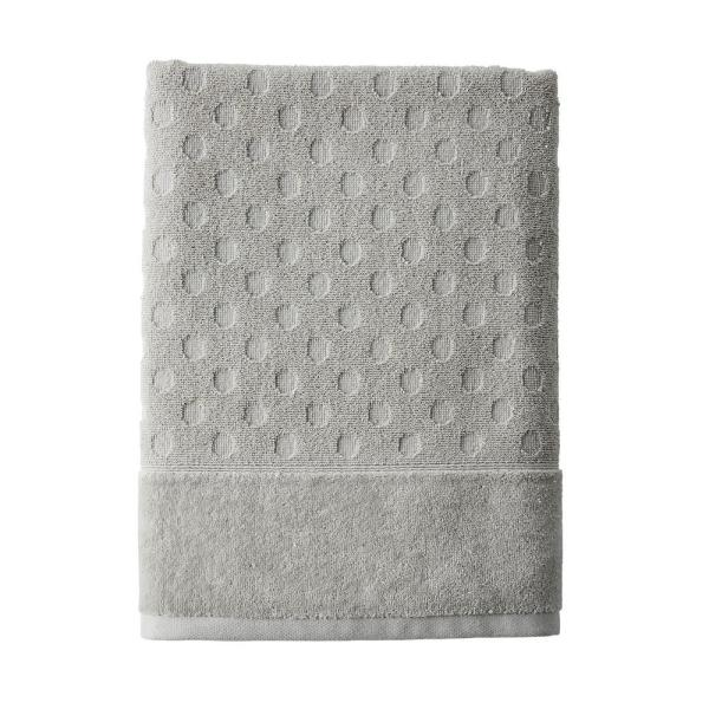 The Company Store Dot Supima Cotton Single Bath Sheet in Light