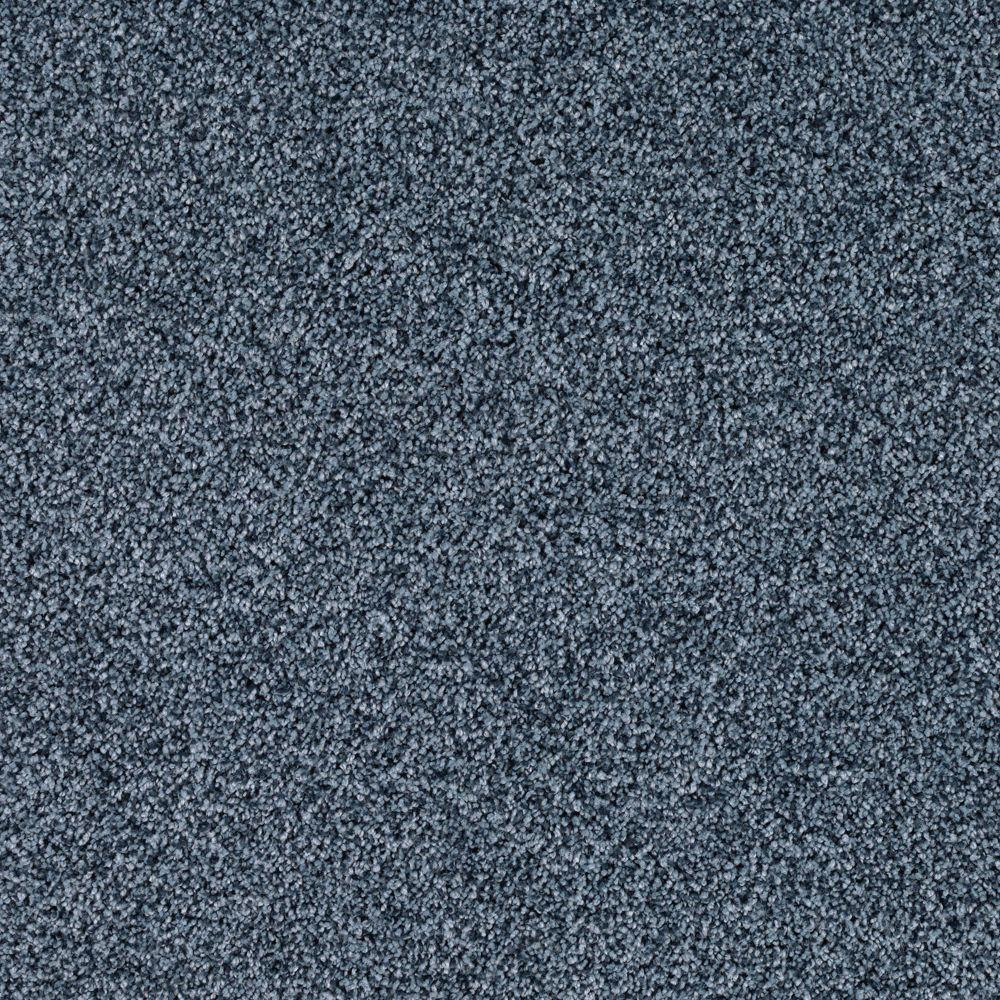 SoftSpring Lavish II - Color Ocean Breeze 12 ft. Carpet
