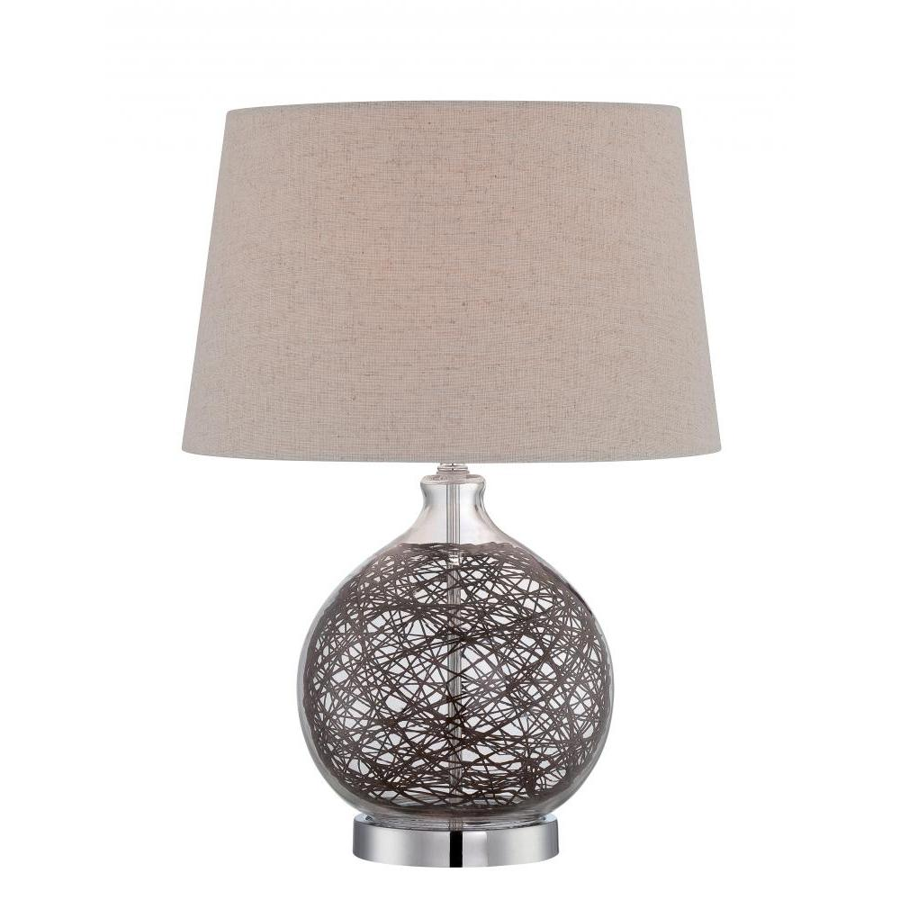 Polished Chrome Table Lamp