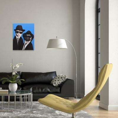 "20 in. x 16 in. ""Brothers"" Graphic Art on Wrapped Canvas Wall Art"