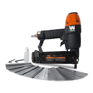 Wen 18-Gauge 3/8 inch to 2 inch Pneumatic Brad Nailer with 2000 Nails by WEN