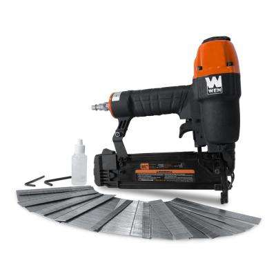 18-Gauge 3/8 in. to 2 in. Pneumatic Brad Nailer with 2000 Nails