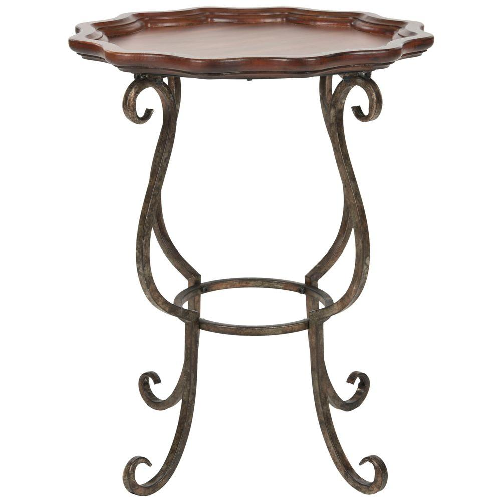 Safavieh Lorraine Java Side Table