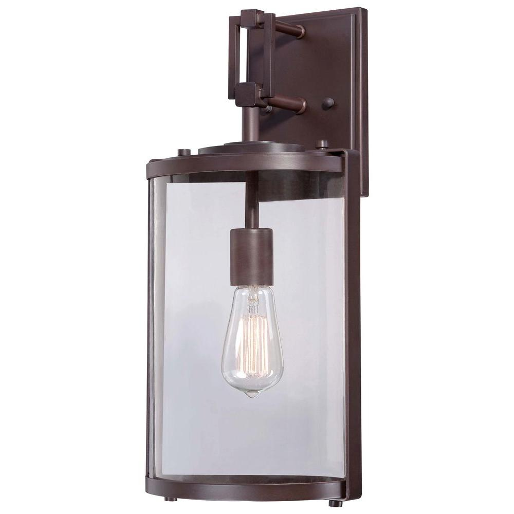 Ladera 1 Light Alder Bronze Outdoor Wall Mount