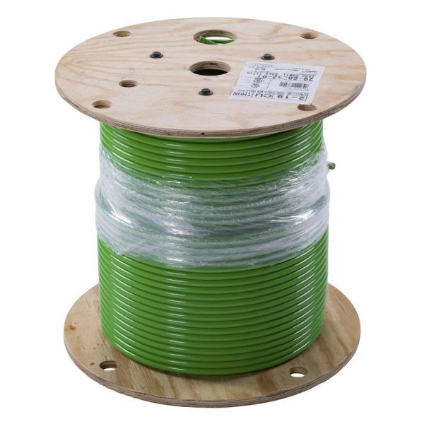 500 ft. 2 Green Stranded CU SIMpull THHN Wire
